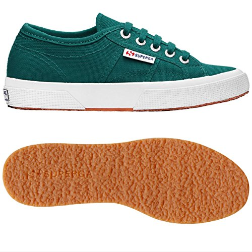 Le Superga - 2750-plus Cotu - Green Teal - 45