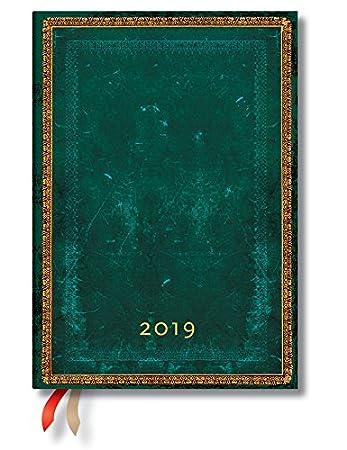 Paperblanks 2019 - Agenda Viridian Midi con citas de 12 ...