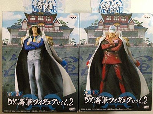 One Piece DX Navy Figure vol.2 Akainu Sakazuki & Aokiji Kuzan (japan import) by Banpresto