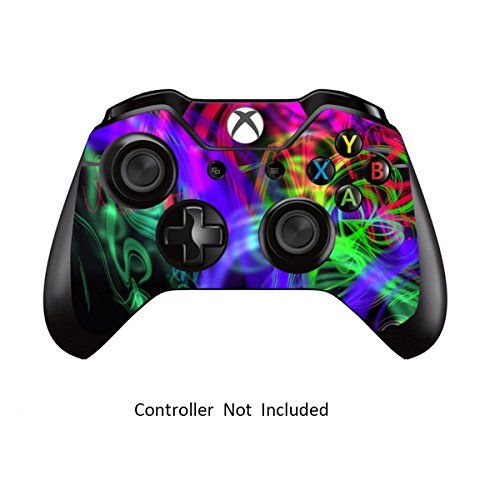 Skins Stickers for Xbox One Games Controller - Custom Orginal Xbox 1 Remote Controller Wired Wireless Protective Vinyl Decals Covers - Leather Texture Protector Accessories - Printed