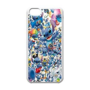 Clzpg High-quality Iphone 5C Case - Lilo and Stitch diy cover case