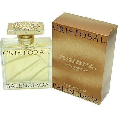 Cristobal By Balenciaga For Women. Eau De Toilette Spray 3.3 Oz. (Cristobal Perfume)