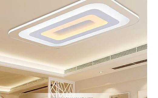MEIREN Moderne LED-Leuchten mit Dimmer Fernbedienung ...