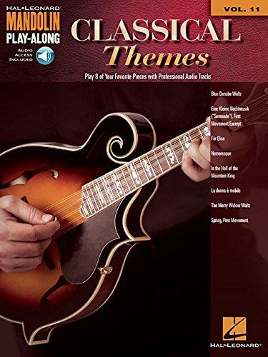 (Classical Themes: Mandolin Play-Along Volume 11 (Hal Leonard Mandolin Play-along))