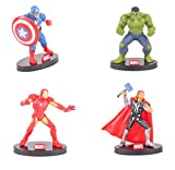 Limited Edition Avengers 4 pcs Set (Essential Collection) Captain America ~ Hulk ~ Ironman ~ Thor