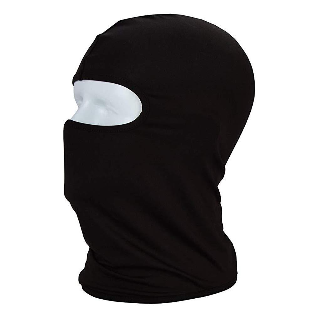 LIOOBO M/áscara de Caza Racing CS Pasamonta/ñas a Prueba de Viento Gorra a Prueba de Polvo Juego de Montar Flying Hood Riding Equipment Sport Mask 3 Pack