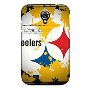 Premium Protection Pittsburgh Steelers Case Cover For Galaxy S4- Retail Packaging