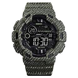 Zwbfu 1472 Analog Digital Watch Luminous Outdoor Sport Watch Men Digital Watch 5Bar Waterproof Alarm Clock Cowboy Military Fashion Watches relogio Masculino