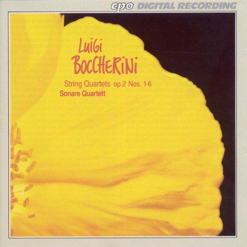 Boccherini: 6 String Quartets, Op. 2