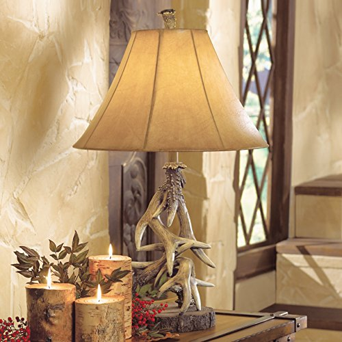 Faux Antler Table Lamp - Cabin
