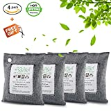 Nature Fresh, Natural Fresh Bag Absorbs Odors, Allergens And Harmful Pollutants, Charcoal Bag For Odors, Home, Cars, Closets Bathrooms And Pet Areas, Air Freshener Bag 200G 4Pack