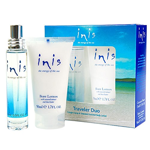 Inis the Energy of the Sea Cologne and Body Lotion Traveler Duo Set