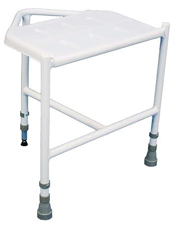 Aidapt Penbury Height Adjustable Corner Shower Stool (Eligible for ...