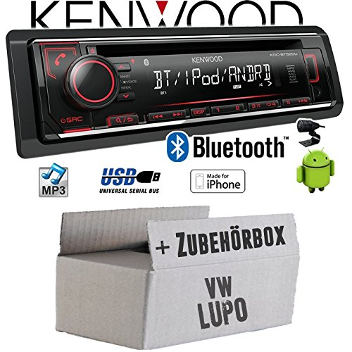 VW Lupo - Autoradio Radio Kenwood KDC-BT520U - Bluetooth CD/MP3/USB - Einbauzubehö r - Einbauset JUST SOUND best choice for caraudio VWlu_KDC-BT520U