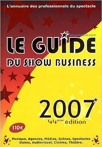 Guide du show business 2006 publié sur euronight. Com.