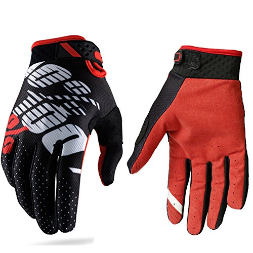 Motorcycle Cross Country Racing Gloves, Men and Women 100 Percent Gloves Cycling Gloves