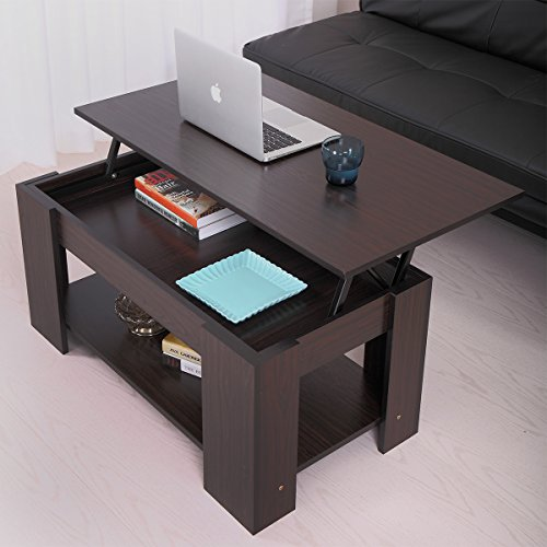 Amazon.com: JAXPETY Lift Up Top Coffee Table With Under