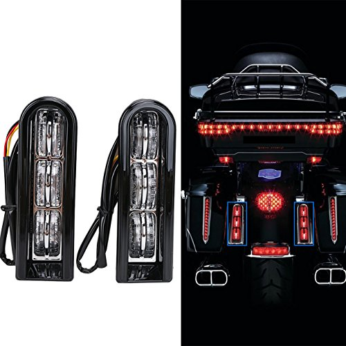 UPC 718174401409, E-Most Black Accent LED Insert Saddlebag Filler Support Light For 2014-2017 Harley Touring (with installation)
