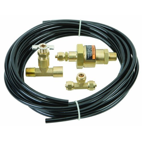 (Automatic Compressor Tank Drain Kit Clog-free discharge by Central Pneumatic)