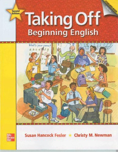 Taking Off: Beginning English Student Book: 2nd edition