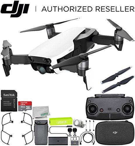 DJI Mavic Air Drone Quadcopter (Arctic White) Starters Bundle Review