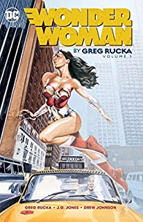 Book Cover: Wonder Woman By Greg Rucka Vol. 1