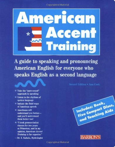American Accent Training, 2nd Edition (Book + CD)