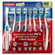 Colgate 360 Degree Adult Full Head, Medium-softness Toothbrush, 8 - Count