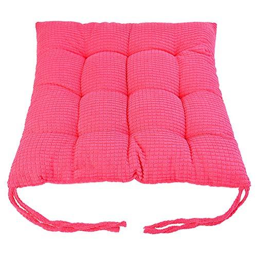 - YURASIKU Comfortable Cotton Seat Cushion Winter Office Bar Chair Back Seat Cushions Throw Pillow Sofa Chair Pads for Home Office