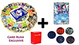 50 Pokemon Cards with ASH GRENINJA EX PROMO holo card plus 5 coin tokens and deck box, ultimate Gift Collection