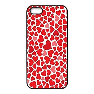 ALICASE Diy Customized Hard Case Love Pink for iPhone 5,5S [Pattern-1] by heywan