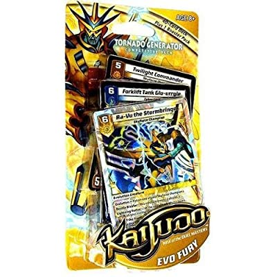Wizards of the Coast Kaijudo Evo Fury Tornado Generator Deck: Toys & Games