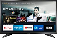 Toshiba HDTV Fire TV Edition is a new generation of smart TVs featuring the Fire TV experience built-in and including a Voice Remote with Alexa. With access to all the movies and TV shows you love, Toshiba Fire TV Edition delivers a superior ...