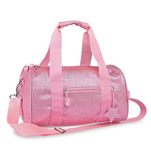 bixbee-pink-sparkalicious-5-pocket-girls-medium-handbag-duffle-bag