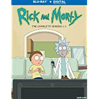 Deals on Rick And Morty: Season 1-3 Blu-ray + Digital