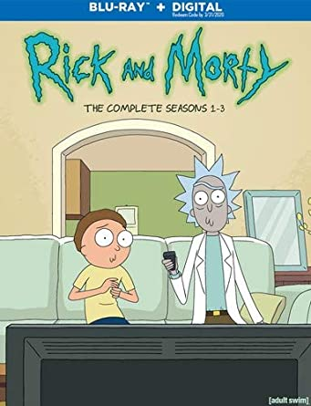 Amazon com: Rick and Morty: Seasons 1-3 (BD) [Blu-ray]: Various