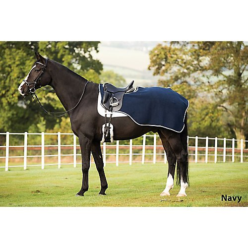 Horseware Rambo Competition Sheet Medium Navy (Newmarket Rambo Fleece)