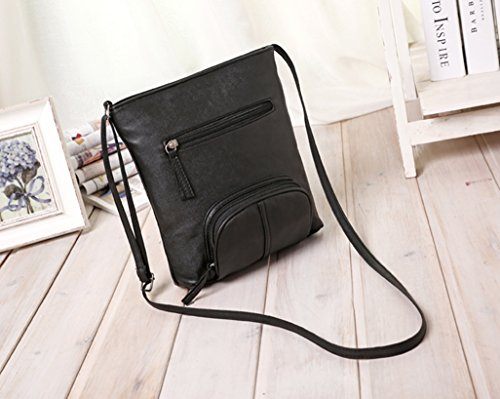 Bag Leather Shoulder Lady Body Handbag Womens E Satchel Messenger Prettymenny Cross Iw7q8x