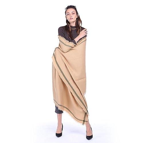 Le sciarpe delle nappe delle sciarpe di aria calda di stampa etnica dell'annata della sciarpa di colore solido di temperamento di nuovo temperamento di modo , 5