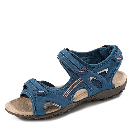 para Geox Sandalias mujer Strel de Denim vestir Donna Sandal D1125C05415C9999 qxaZv4