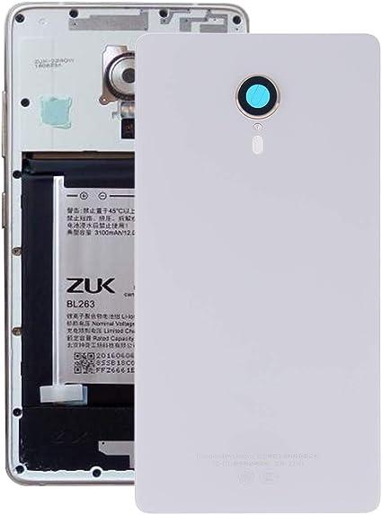 DINGJIA Tapa Trasera de batería excelente for Lenovo ZUK Edge / Z2151 (Blanco) (Color : Blanco): Amazon.es: Electrónica