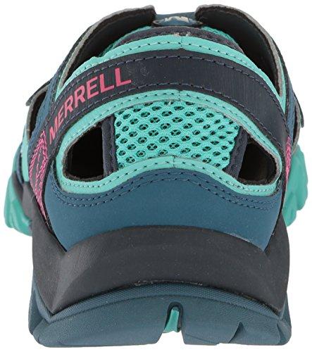 Merrell Mens Involucro Cresta Tetrex Sportiva Sandalo Legione Blu