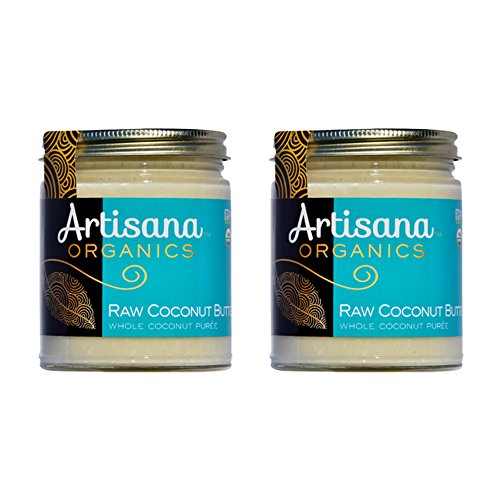 Artisana Organics - Coconut Butter, Organic, Certified R.A.W. Spread, No Added Sugar, Non-GMO and Vegan (8 oz, Pack of 2)