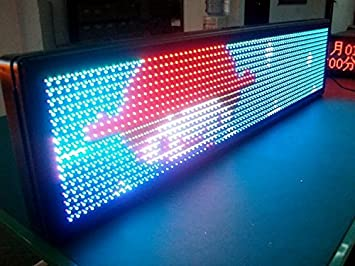 Amazon.com: Gowe Full Color LED Display con RGB LED Sign ...