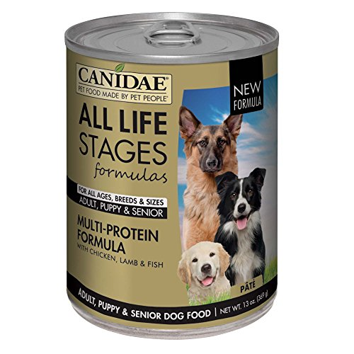 CANIDAE All Life Stages Dog Wet Food Multi-Protein Formula, 13 oz (12-pack)