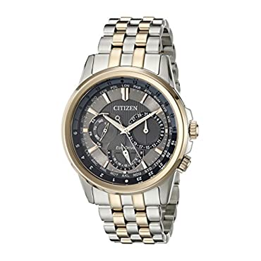 Citizen Men's BU2026-57H Calendrier Eco-Drive Two-Tone Stainless Steel Bracelet Watch