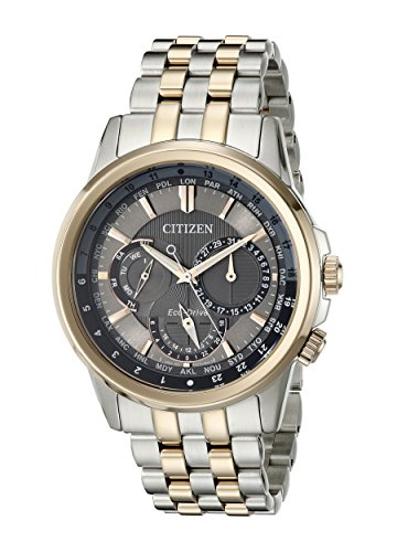 Eco Bracelet Two Drive Tone (Citizen Men's BU2026-57H Calendrier Eco-Drive Two-Tone Stainless Steel Bracelet Watch)