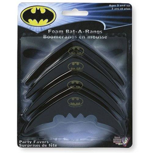 Batarang Replica (Batman Foam Bat-A-Rangs (4 count))