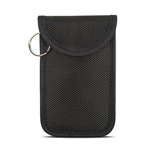 Naviurway Small Keyfobs Guard Mini Keyless Remote Holder Faraday Bag for RFID Key Fob NFC Credit Card Driver License