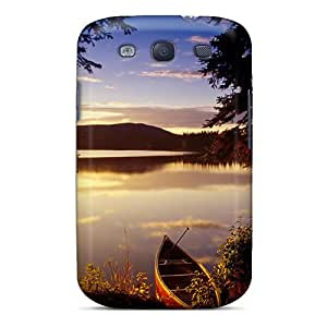Ajephke Galaxy S3 Hybrid Tpu Case Cover Silicon Bumper Fantastic View Of The Lake